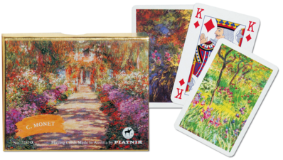 Romme-Canasta-Bridge: Monet - Giverny