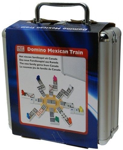 Domino Mexican Train Alukoffer