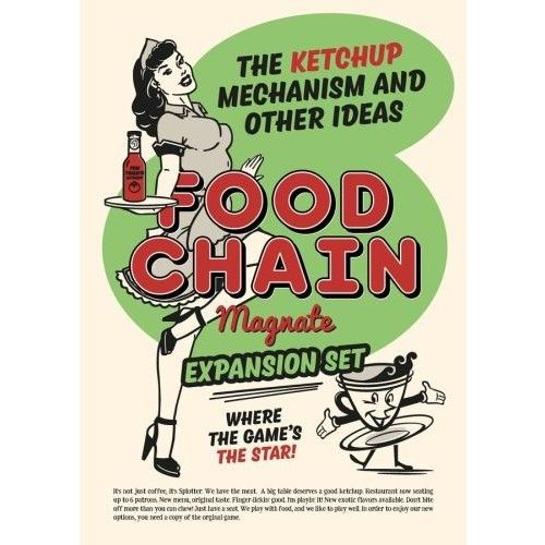 Food Chain Magnate: Ketchup Mechanism and Other Ideas EN/DE