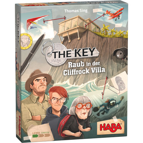 The Key – Raub in der Cliffrock Villa